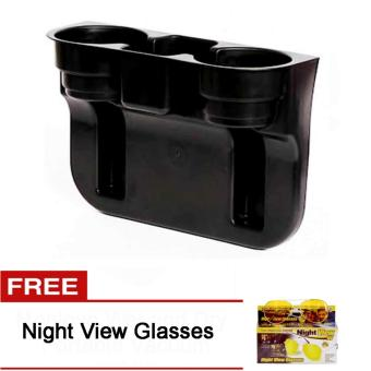Car Valet Cup Holder Free Night View Glasses