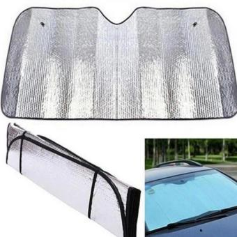Car Windshield Visor Cover Front Rear Block Window Sun Shade Foldable