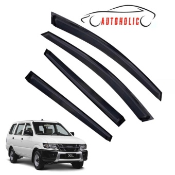 Carbon Window Visor or Rain Guard for isuzu Crosswind
