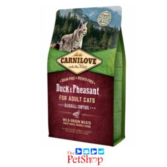 Carnilove into the Wild 2kg Duck & Pheasant for Adult Cats
