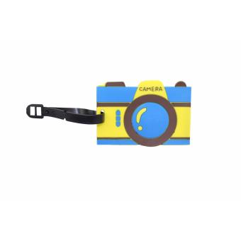 Cartoon Camera Design Travel Accessories Luggage Tag