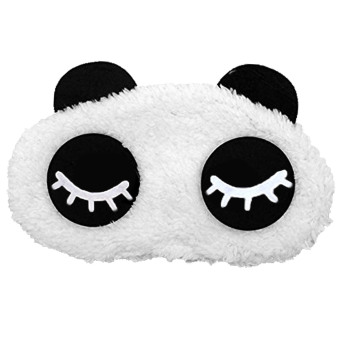 Cartoon Panda Cotton Sleeping Eye Mask Cover Shade Patch BlindfoldNap Sleep Travel Rest Blinder Style 2