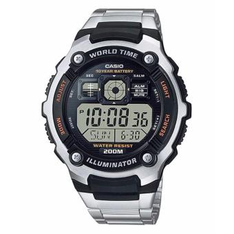 Casio AE-2000WD-1AVDF Men's Watch Silver Strap