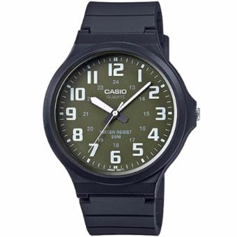 Casio Analog Big Face Resin Strap Men's Watch MW-240
