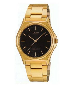 Casio Analog Mens Gold Stainless Steel Strap Watch MTP-1130N-1ARDF