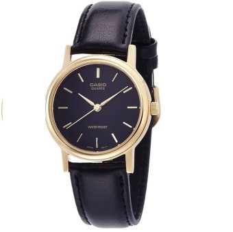 Casio Analog Mens Leather Strap Watch MTP-1095Q-1A
