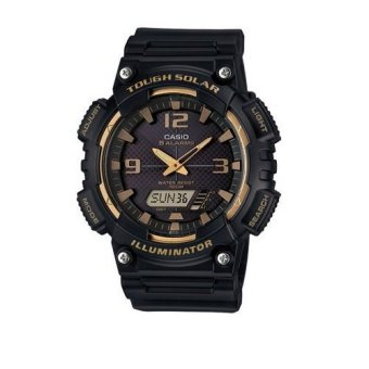 Casio Analog Mens Rubber Black Strap Watch AQ-S810W-1A3 Price Philippines