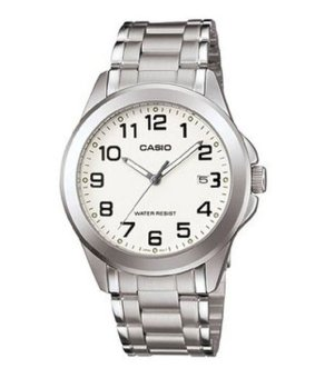 Casio Analog Mens Stainless Steel Strap Watch MTP-1215A-7B2DF