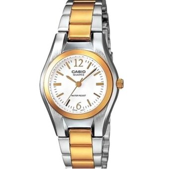 Casio Analog Mens Stainless Steel Strap Watch MTP-1253SG-7ADF