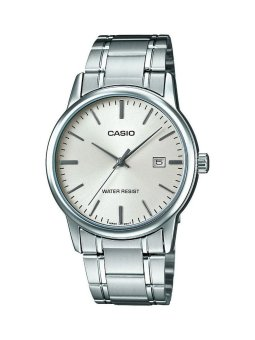 Casio Analog Mens Stainless Steel Strap Watch MTP-V002D-7AUDF