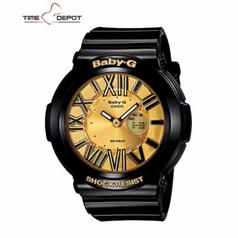 Casio Baby-G Women's Analog Digital Black Resin Strap Watch BGA-160-1B