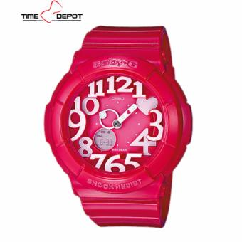 Casio Baby-G Women's Pink Resin Strap Watch BGA-130-4B