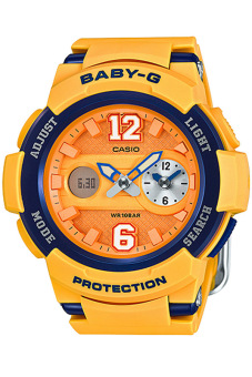 Casio Baby-G Women's Watch BGA-210-4B Yellow