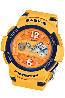 Casio Baby-G Women's Watch BGA-210-4B Yellow - 2