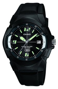 Casio Black Rubber Strap Men's Watch MW-600F-1AVDF