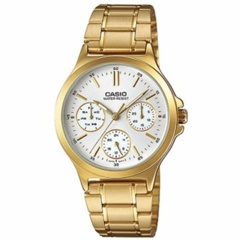 Casio Chronograph Gold Women's Watch LTP-V300G-7A