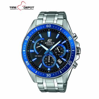 Casio Edifice Men's Silver Stainless Steel Strap Watch EFR-552D-1A2
