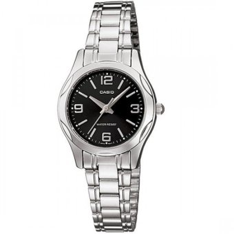 Casio Enticer Women's Silver Stainless Steel Strap Watch LTP-1275D-1A2DF