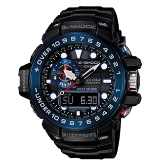 Casio G-Shock Black Resin Band Watch GWN-1000B-1BDR