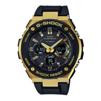 Casio G Shock Black/Gold Steel Dial Plastic Strap Watch GSTS100G-1A Price Philippines