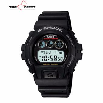 Casio G-Shock Digital Tough Solar Men's Black Resin Strap Watch G-6900-1D