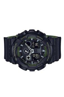 Casio G-Shock GA-100L-1A Black - intl - 3