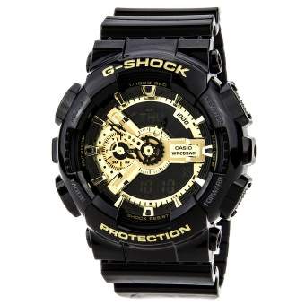 Casio G-Shock GA-110GB-1A Black and Gold Men's Watch