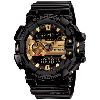 Casio G-Shock GBA400-1A9 Black and Gold Bluetooth Music Men's Watch Price Philippines