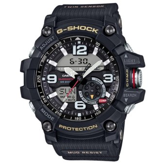 Casio G-Shock GG-1000-1A DR Mudmaster Twin Sensor Ana-Digital Men'sWatch Black - intl Price Philippines