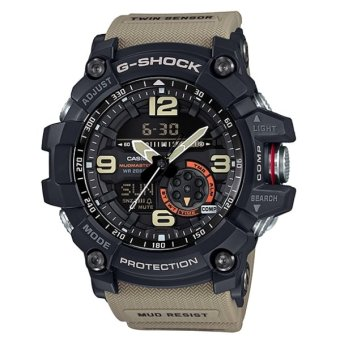 Casio G-Shock GG-1000-1A5 DR Mudmaster Twin Sensor Ana-DigitalMen's Watch - intl Price Philippines