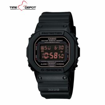 Casio G-Shock Men's Black Resin Strap Watch DW-5600MS-1D