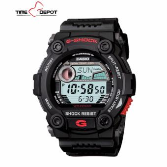 Casio G-Shock Men's Black Resin Strap Watch G-7900-1D with FREE Casio Watch MW-240-1B - 2