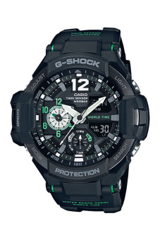 Casio G-Shock Men's Black Resin Strap Watch GA-1100-1A3