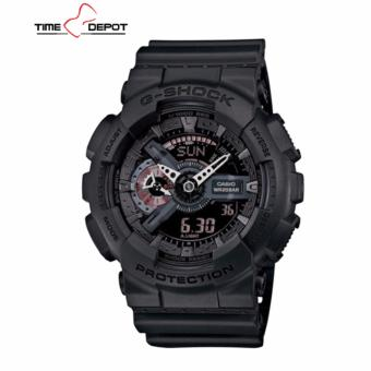Casio G-Shock Men's Black Resin Strap Watch GA-110MB-1A