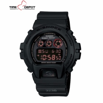 Casio G-Shock Men's Digital Black Resin Strap Watch DW-6900MS-1D
