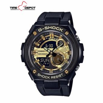 Casio G-Shock Men's G-Steel Black Resin Strap Watch GST-210B-1A9