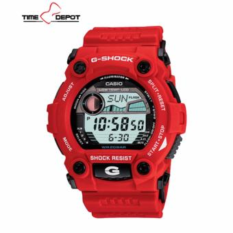 Casio G-Shock Men's Red Resin Strap Watch G-7900A-4D with FREE Casio Watch MW-240-1B - 2