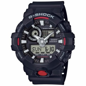 Casio G-shock Men's Watch Resin Strap Black GA-700-1A/GA700-1A - intl