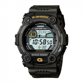 Casio G-Shock Men's Green Resin Strap Watch G-7900-3