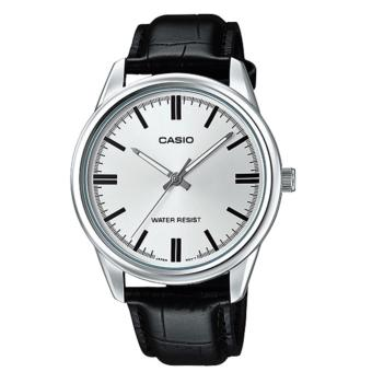 Casio Genuine Dress Watch Black Leather Strap MTP-V005L-7AUDF