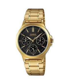 Casio Gold Stainless Steel Band Women'S Watch Ltp-V300G-1A