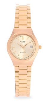 Casio Gold Stainless Steel Band Women's Watch LTP-1170N-9ARDF