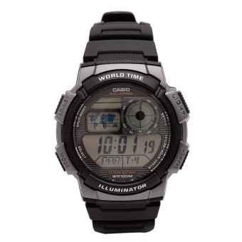 Casio Illuminator Men's Black Resin Strap Watch AE-1000W-1BVDF