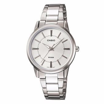 Casio LTP-1303D-7A Silver Stainless Watch for Women