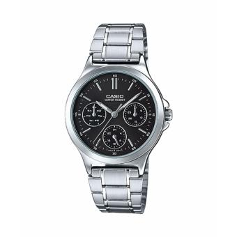 Casio LTP-V300D-1AU Silver Stainless Watch for Women