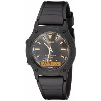Casio Men's Black Resin Strap Watch AW-49HE-1AVDF