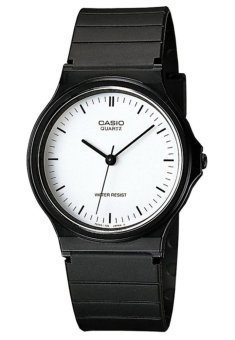 Casio Men's Black Rubber Strap Watch MQ-24-7ELDF