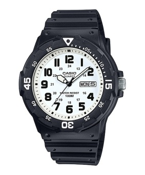 Casio Men's Black Rubber Strap Watch Mrw-200H-7Bvdf