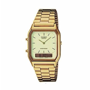 Casio Men's Gold Stainless Steel Strap Watch AQ-230GA-9DMQ Price Philippines