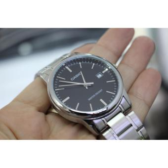Casio Men's Stainless Steel Strap Business Watch MTP-V002D-1A - 3